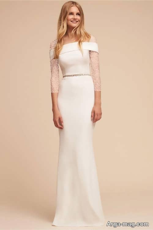 لباس عروس ساده و شیک