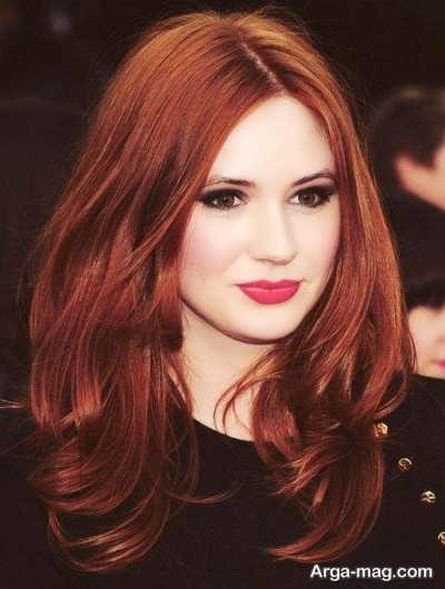 رنگ مو با حنا