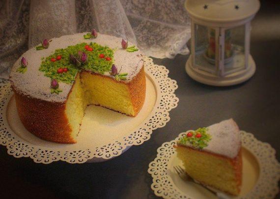 طرز تهیه کیک هل و گلاب