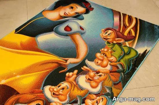 تابلو فرش کودکانه فانتزی