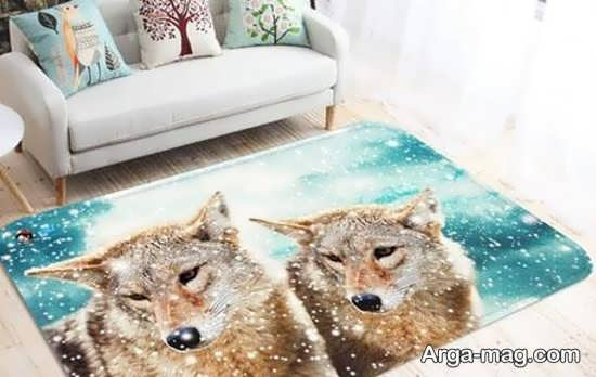 تابلو فرش سه بعدی فانتزی