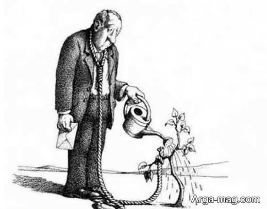 کاریکاتور مفهومی
