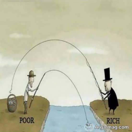 کاریکاتور طنز و مفهومی