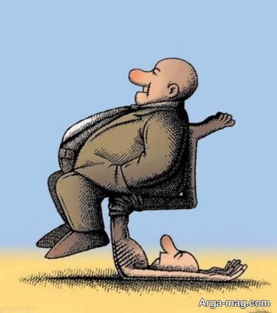 کاریکاتور های مفهومی
