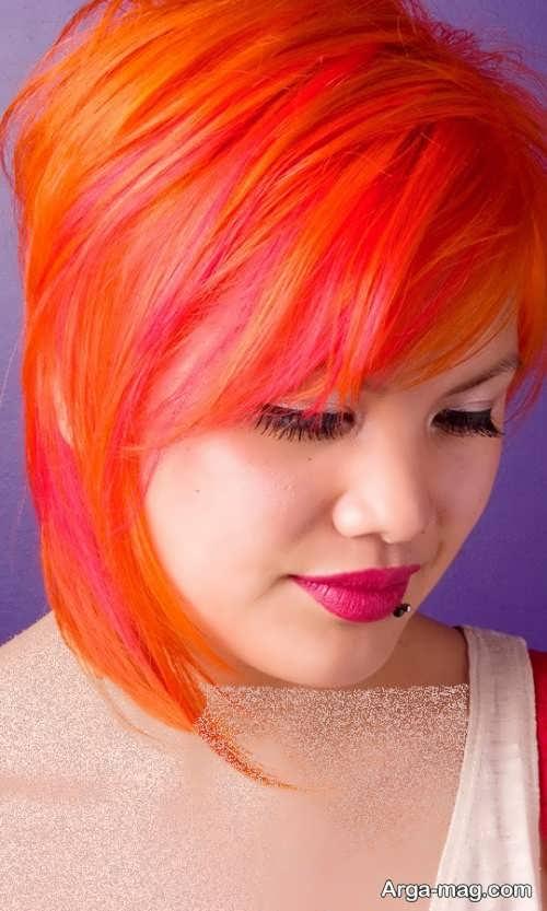 رنگ مو مرجانی