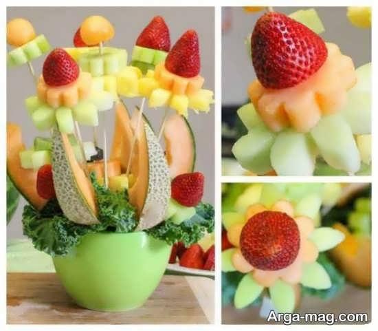 تزیین انواع میوه عید نوروز