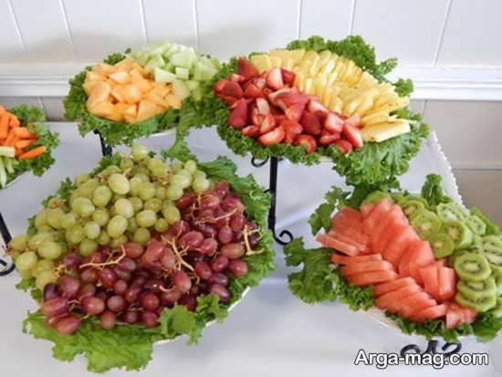تزیین خلاقانه میوه عید نوروز