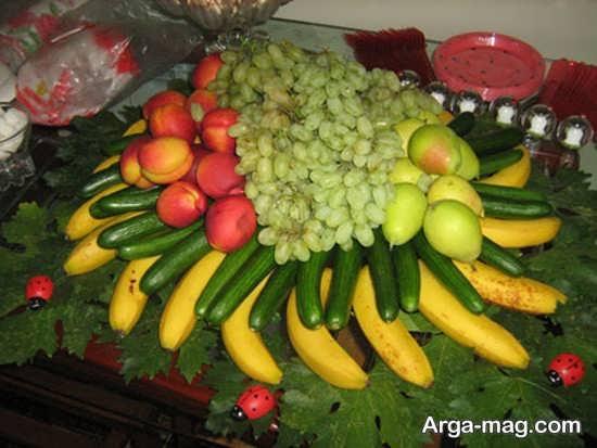 تزیین شیک میوه عید نوروز