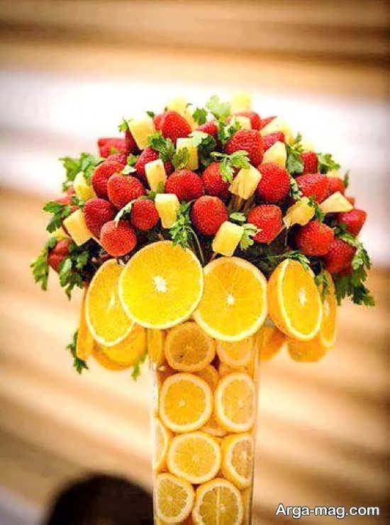 تزئین جذاب میوه عید نوروز