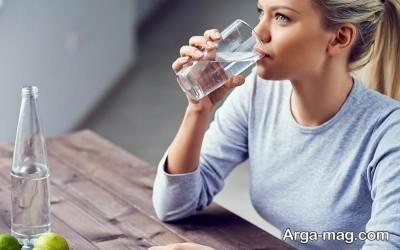 خوردن آب برای رفع خواب آلودگی