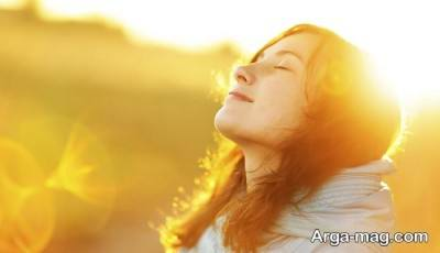 گرفتن آفتاب برای رفع خواب آلودگی