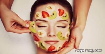 استفاده از ماسک میوه