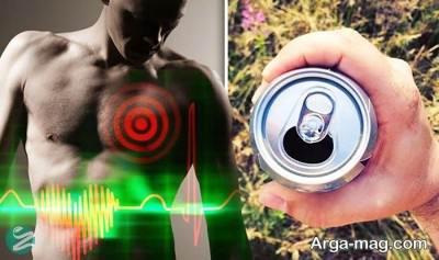عوارض نوشابه انرژی زا برای بدن
