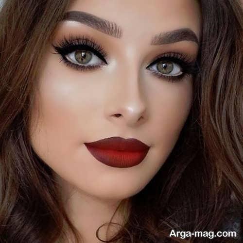مدل میکاپ صورت زنانه