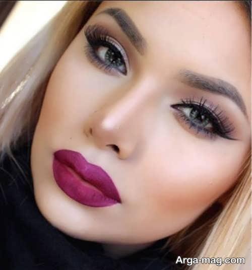 مدل میکاپ زیبا و شیک زنانه