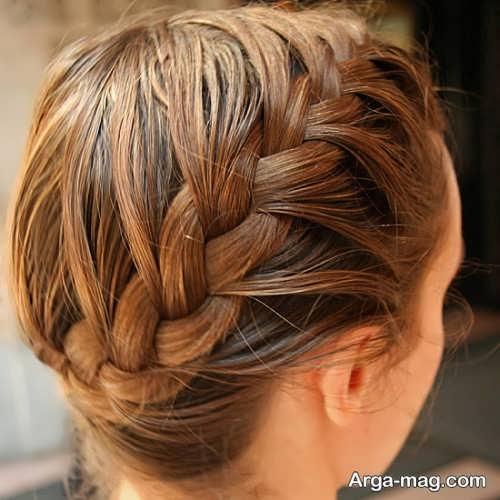بافت موی زیبا فرانسوی