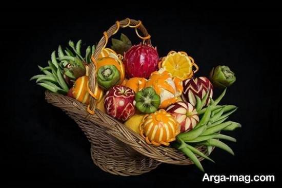 تزیین سبدهای میوه