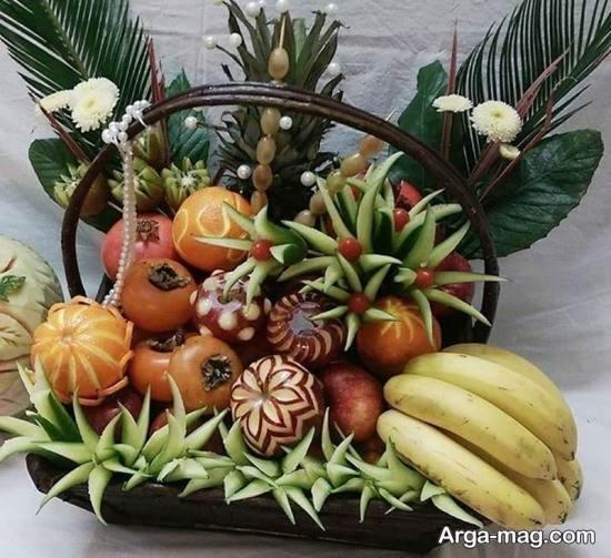 تزیین انواع مختلف میوه