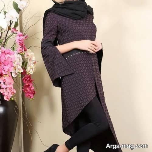 مدل مانتوی شیک و جدید دخترانه