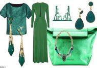 ست رنگ سبز با رنگ های خاص و مکمل یکدیگر