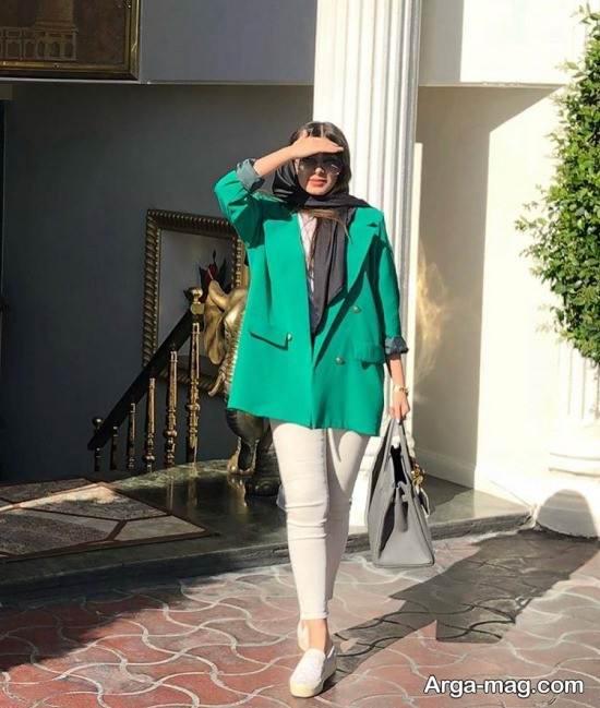 ست رنگ سبز با سفید