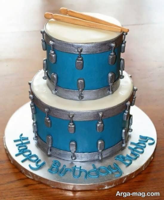 دیزاین جشن تولد با تم گیتار