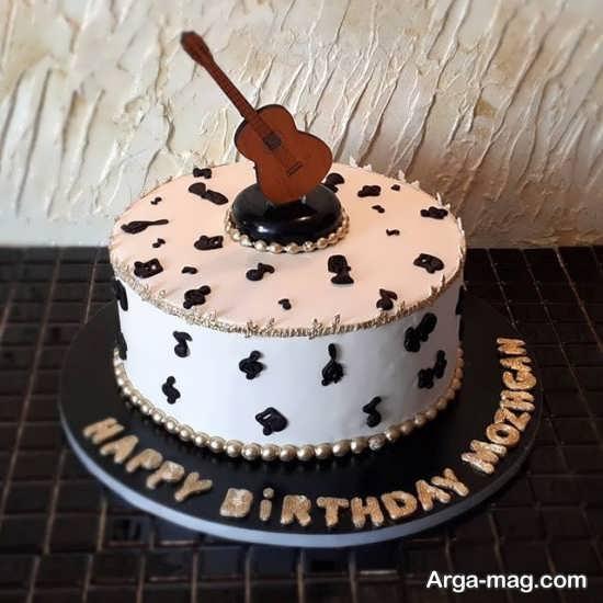مدل کیک تولد گیتار