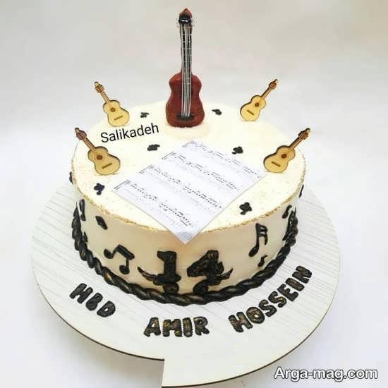 کیک دیدنی تولد گیتار