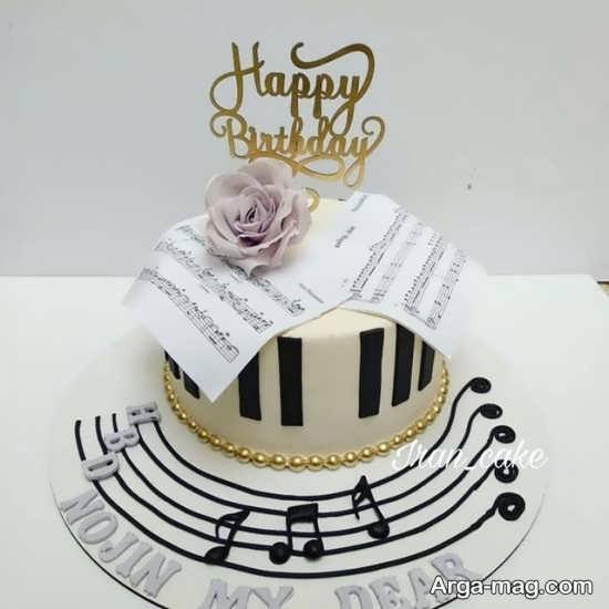 کیک جالب تولد گیتار