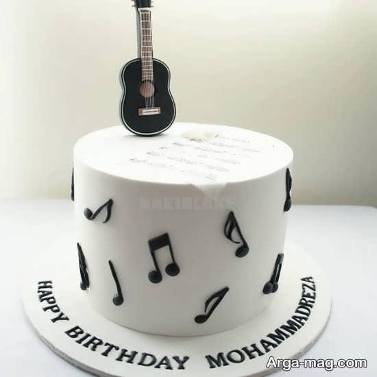 دکوراسیون تولد با تم گیتار