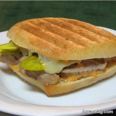 دستور پخت ساندویچ ژامبون