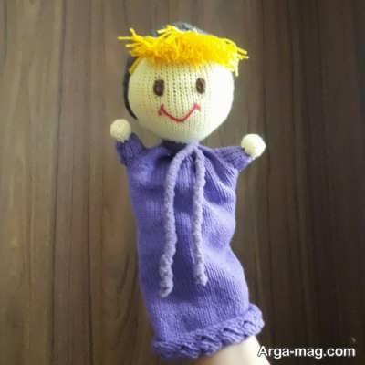 عروسک دستی ساده
