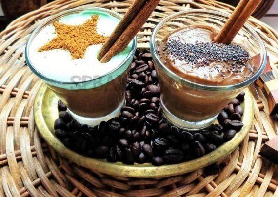 طرز تهیه پودینگ قهوه