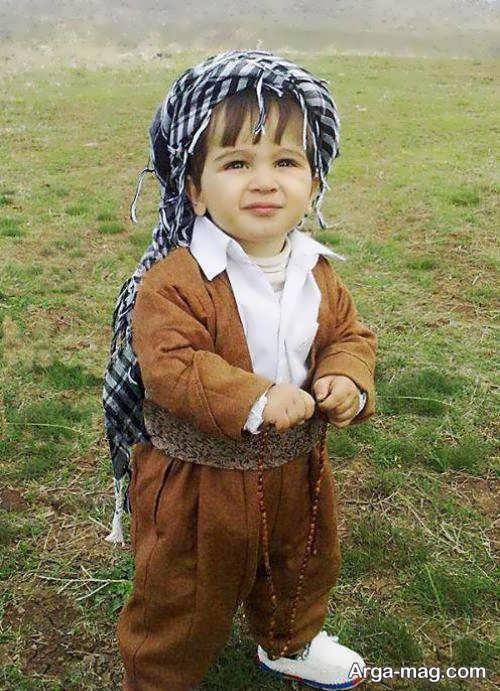 لباس کردی پسرانه بچه گانه