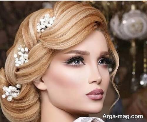 آرایش صورت زیبا و جدید برای عروس