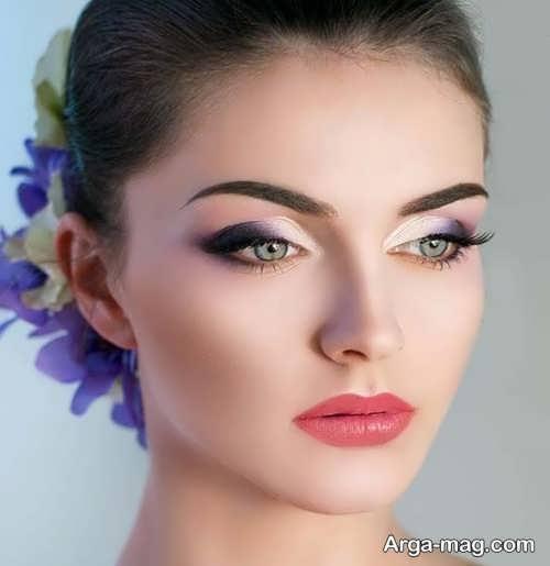 آرایش لایت و ملایم برای عروس