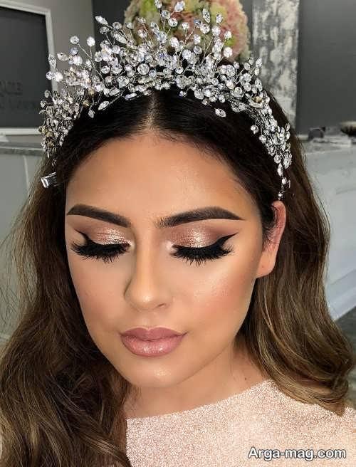 مدل آرایش صورت عروس با متدهای جدید