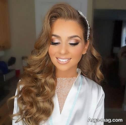 مدل میکاپ زیبا و جدید برای عروس