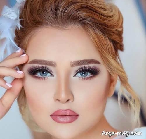 آرایش صورت حرفه ای برای عروس