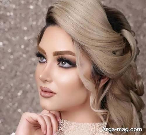 آرایش ملایم عروس
