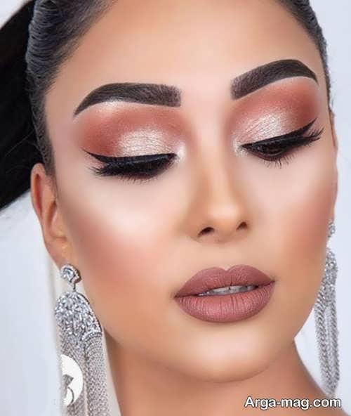 مدل آرایش حرفه ای برای عروس