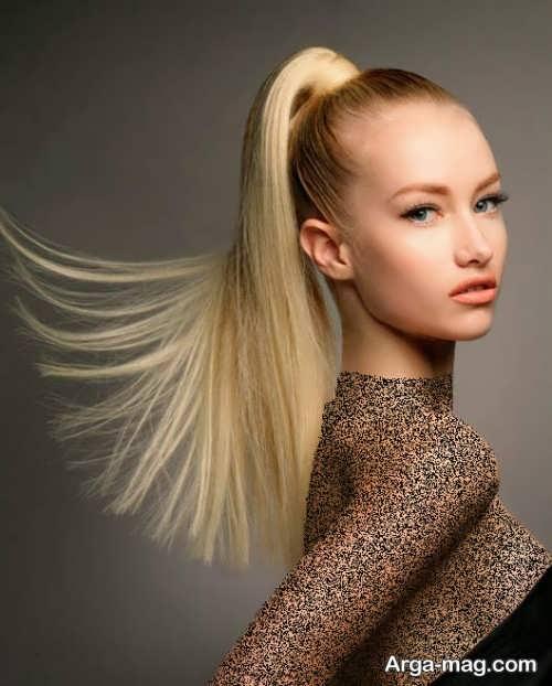 مدل موی زنانه و زیبا دم اسبی