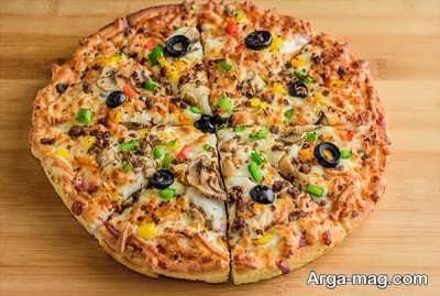دستور تهیه پیتزا مخصوص