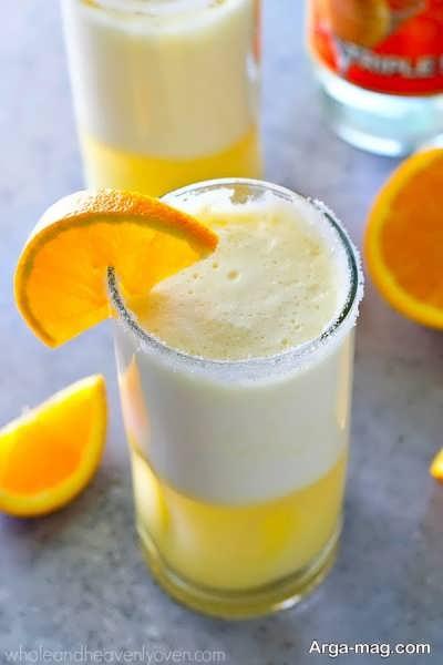 دستور تهیه اسموتی پرتقال