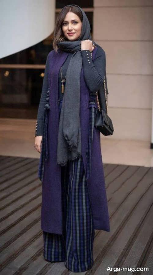 مدل مانتوی بلند پریناز ایزدیار