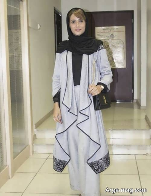 مدل مانتوی زیبا و شیک بازیگران ایرانی