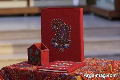 فطه دوزی روی جلد قرآن