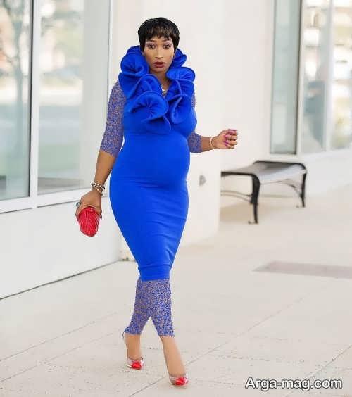 لباس بارداری ساده و شیک