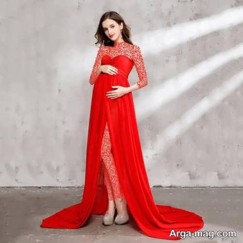 مدل لباس شب بارداری