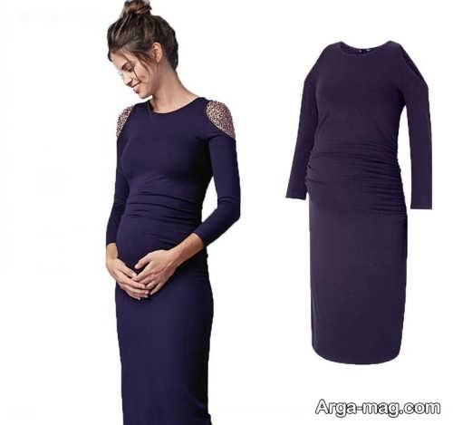 مدل لباس کوتاه بارداری